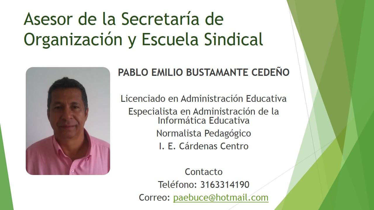 Asesor Escuela Sindical